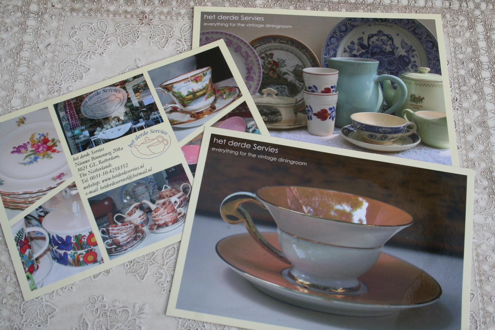 Het Derde Servies.56 Hoe Overleef Je Met Een Vintage Servieszaak Op De Nieuwe
