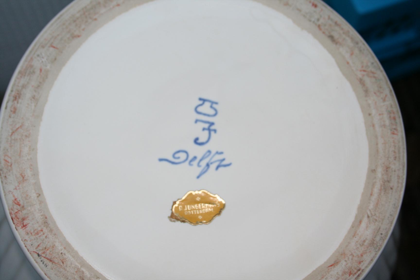 Wonderlijk Grote vaas, Wit Delfts aardewerk, Porceleyne fles - het derde Servies VH-69